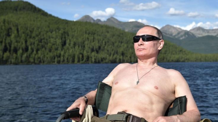 Wladimir Putin gönnt sich ein wenig Entspannung.