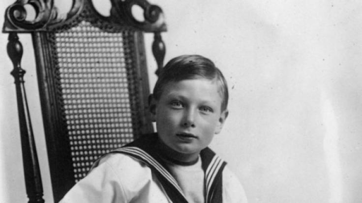 Eine Aufnahme von Prinz John aus dem Jahr 1913.