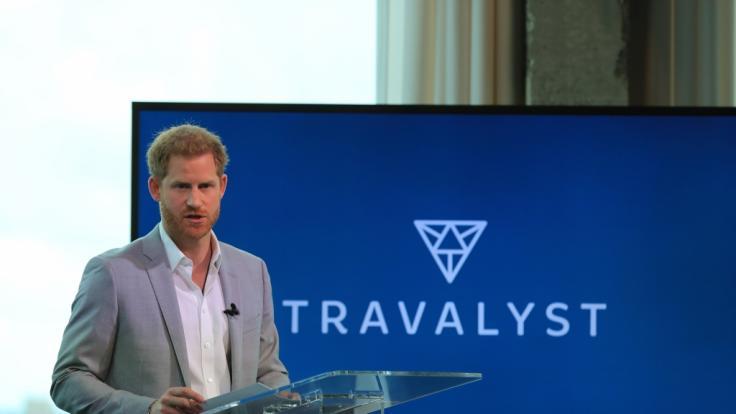 Prinz Harry bezieht erstmals Stellung nach Privatjet-Ärger. (Foto)