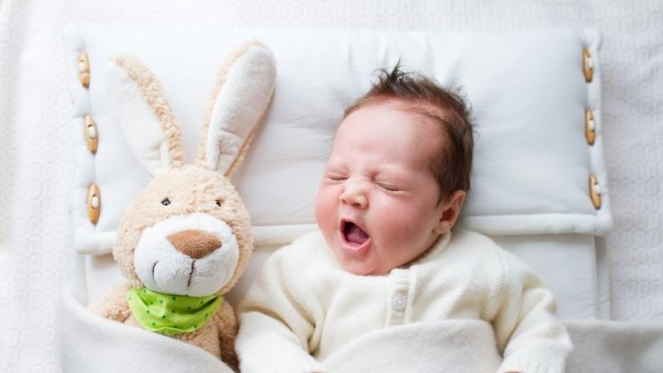 Nathan Dailo verspricht, ein Baby innerhalb von 42 Sekunden zum Einschlafen zu bringen.