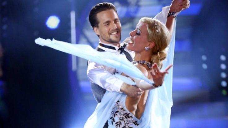 Tanzten sich souverän zum Sieg bei Let's Dance 2014: Alexander Klaws und Isabel Edvardsson.