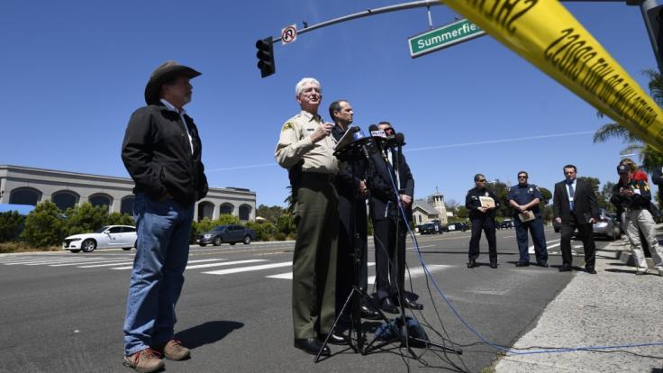 Frau stirbt bei Angriff auf US-Synagoge. (Foto)