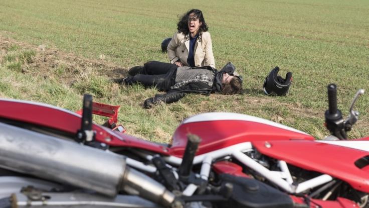 Stirbt Ben Ahlbeck bei einem Motorradunfall? (Foto)