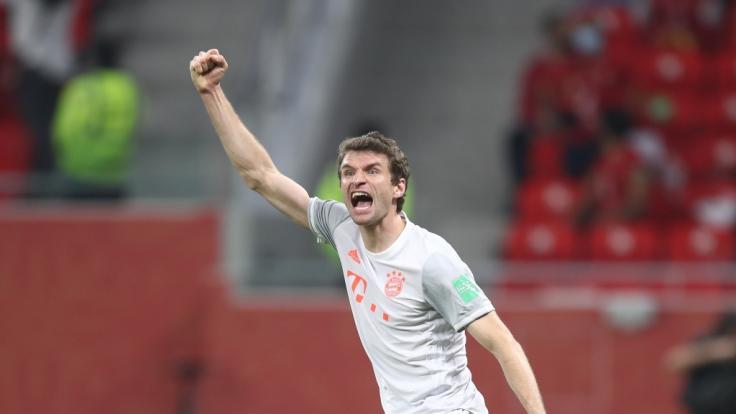 Münchens Thomas Müller wurde bei der Klub-WM positiv auf Corona getestet. (Foto)
