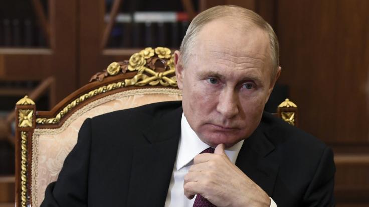 Wladimir Putin erkennt Joe Biden aktuell noch nicht als neuen US-Präsidenten an.