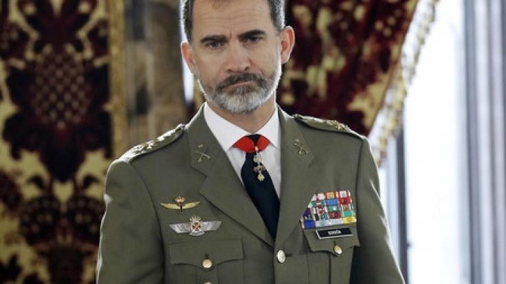 Seit Sommer 2014 ist der ehemalige Prinz Felipe König von Spanien und Nachfolger seines Vater König Juan Carlos I.