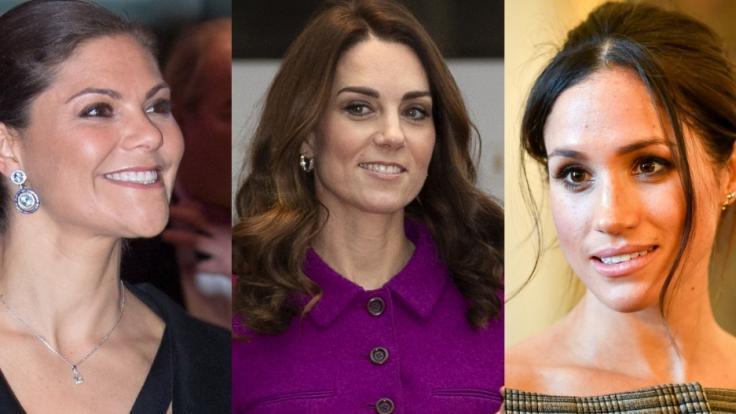 Die Royal-News der Woche mit Prinzessin Victoria, Kate Middleton und Meghan Markle.