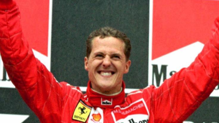 Michael Schumacher ist der unangefochtene Formel-1-Champion. (Foto)