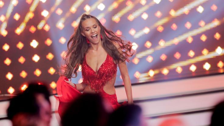 """Laura Müller während ihrer """"Let's Dance""""-Teilnahme im Jahr 2020. (Foto)"""