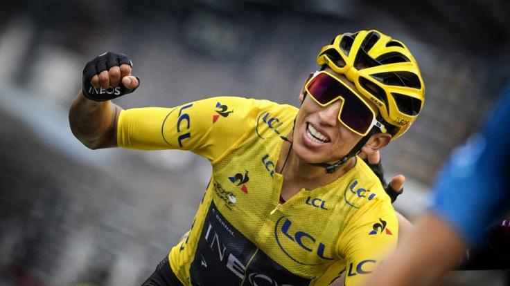 Egan Bernal zählt zu den Favoriten der Tour de France. (Foto)