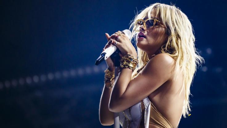 Rita Ora gibt im Netz wieder ordentlich Gas. (Foto)