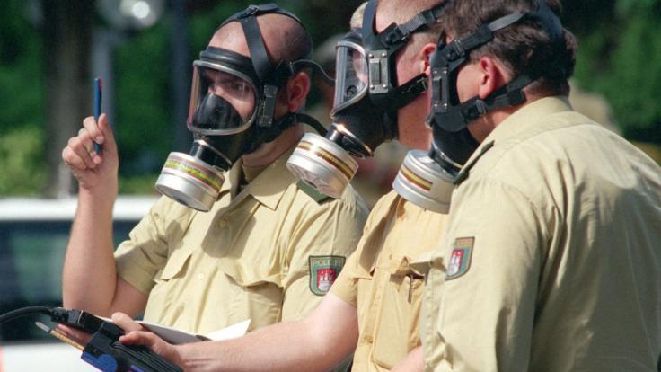Austretender giftiger Ammoniak vergiftet mindestens 60 Menschen in Straubing. (Symbolbild) (Foto)
