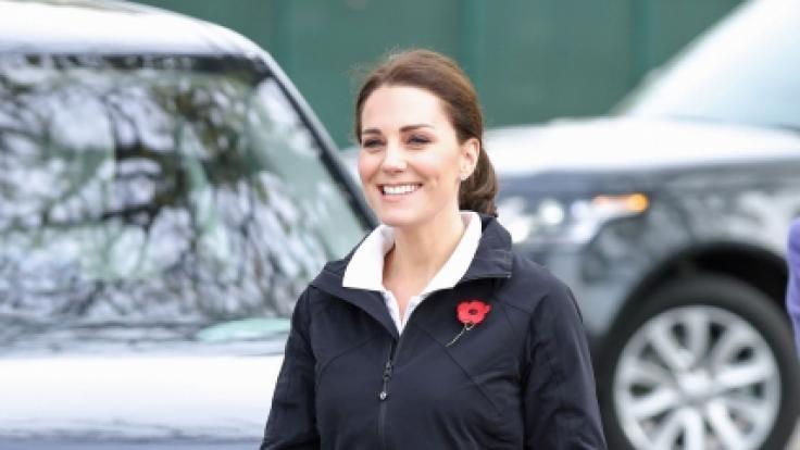 Kate Middleton ist eine echte Sportskanone.