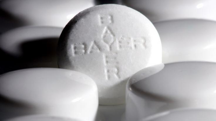 Bayer ruft verschiedene Chargen von Aspirin Plus C und Aspirin Effect zurück. (Foto)