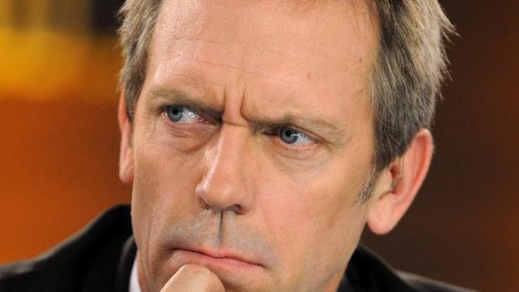 Ist er nicht sexy? Hugh Laurie, bekannt aus der US-Serie Dr. House. (Foto)
