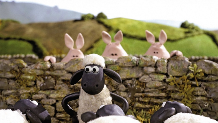 Shaun das Schaf bei KiKA