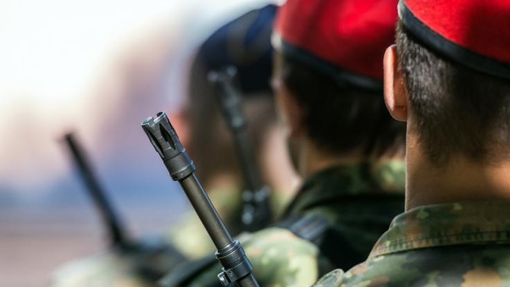 Ein Misshandlungsskandal erschüttert die Bundeswehr. (Foto)