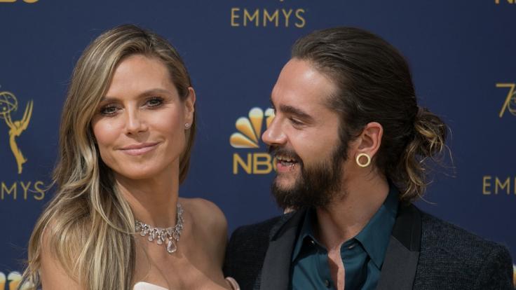 Tom Kaulitz hat nur Augen für seine Heidi.