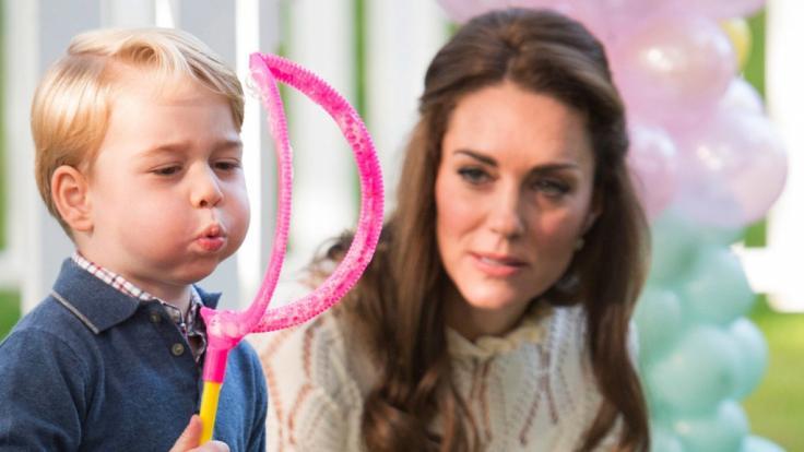 Kate Middleton hat Grund zum Feiern: Ihr Ältester Prinz George wird fünf Jahre alt.