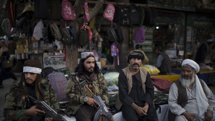 Taliban-Kämpfer sollen den Bruder des früheren Vizepräsidenten Amrullah Saleh ermordet haben. (Foto)