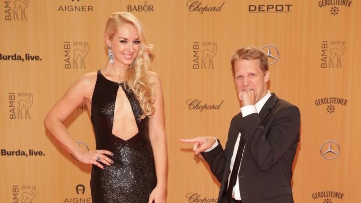 Oliver Pocher tritt gegen seine Ex-Freundin Sabine Lisicki nach.