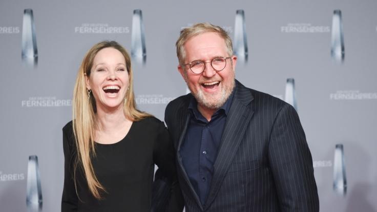 Seit gut 18 Jahren ein Paar: Schauspielerin Ann-Kathrin Kramer und Harald Krassnitzer. (Foto)