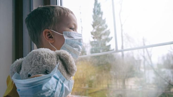 Auch Kinder können schwer an Covid-19 erkranken. (Foto)