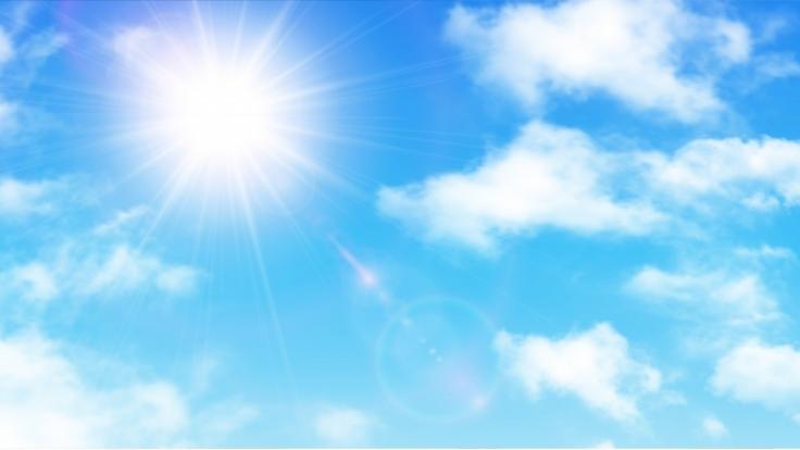 Wettervorhersage: Es wird sonnig. (Symbolbild) (Foto)