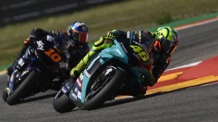 Die MotoGP gastiert am Wochenende in San Marino. (Foto)