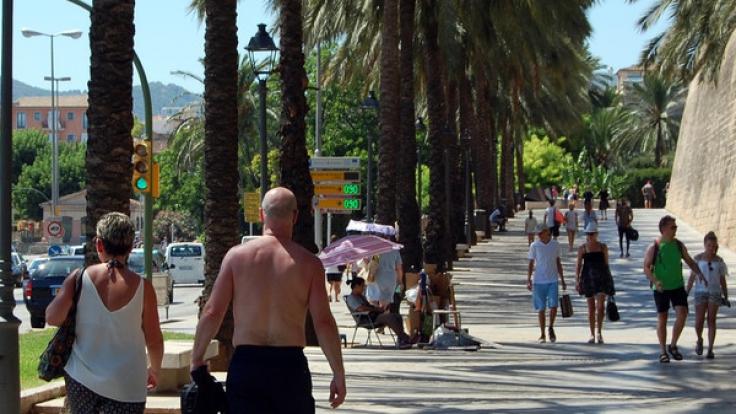 Die Hitzewelle auf Mallorca fordert bereits zwei Menschenleben.