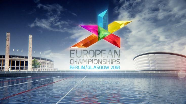 Das Logo der in Berlin und Glasgow ausgetragenen European Championships 2018. (Foto)
