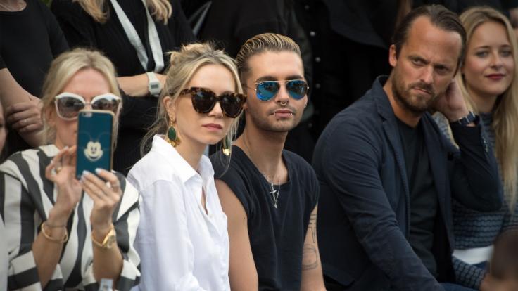 Bill Kaulitz bei der Berlin Fashion Week 2017. (Foto)