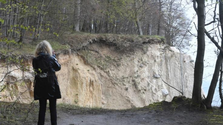 Schön und tödlich zugleich: Die Kreideküste auf Rügen.