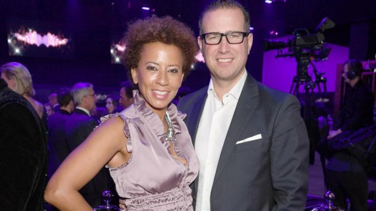 Arabella Kiesbauer ist seit 2004 mit ihrem Ehemann Florens Eblinger verheiratet. (Foto)