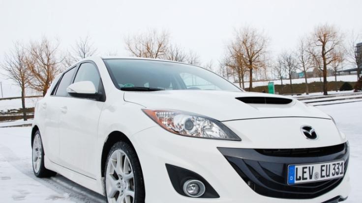 Der Mazda 3 MPS punktet bei flotter Fahrt genauso wie im Alltag - und das zu einem günstigen Preis.