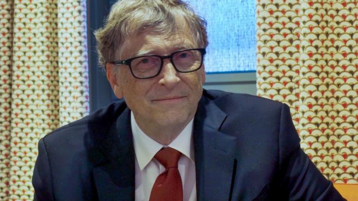 Bill Gates spricht über ein mögliches Corona-Ende. (Foto)