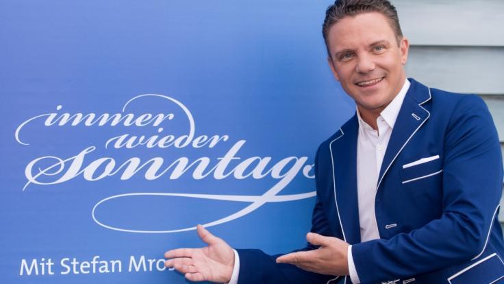 """Stefan Mross moderiert """"Immer wieder sonntags"""" bereits seit 2005. (Foto)"""