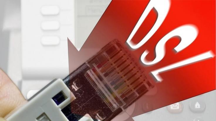 Schönes schnelles DSL ist eine prima Sache, wenn sie funktioniert. (Foto)
