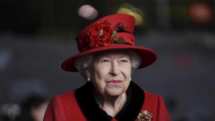 Queen Elizabeth II. unterstützte die Familie des Dudelsackspielers wo es ging. (Foto)