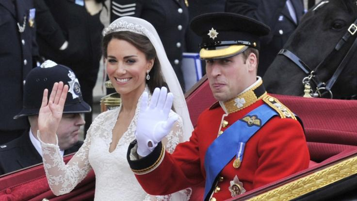 Queen Elizabeth II. hat eine Sache während der Hochzeit von Kate Middleton und Prinz William gestört.