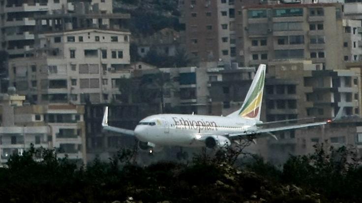 Eines der Flugzeuge der FluggesellschaftEthiopian Airlines ist abgestürzt - 157 Tote. (Foto)
