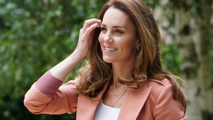 Kate Middleton steht ihrem Ehemann Prinz William auch in hochemotionalen Momenten zur Seite. (Foto)