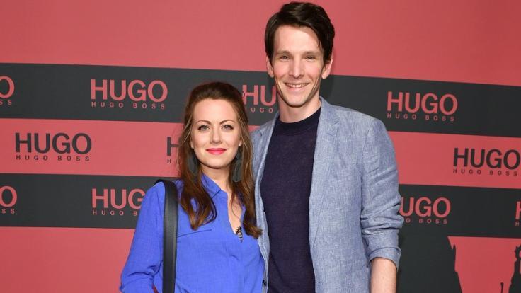 Sabin Tambrea und seine Frau Alice Dwyer bei der Berlin Fashion Week 2019. (Foto)