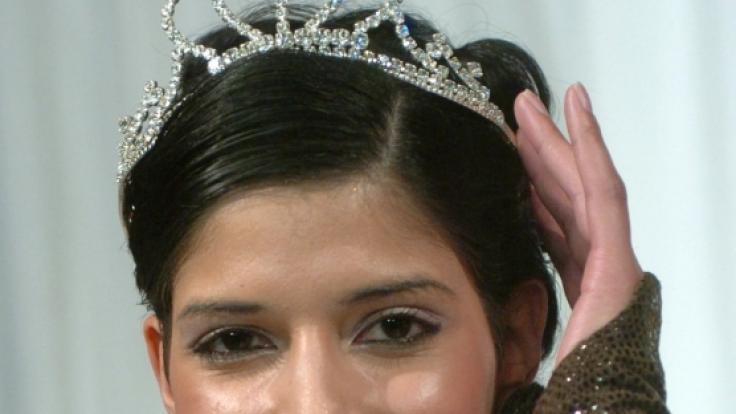 Kaum wiedererkannt: Micaela begann ihre Karriere bei der Wahl zur Miss Ostdeutschland 2004. Auch da war sie noch ganz natürlich.