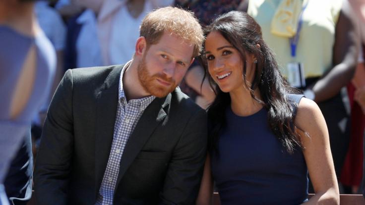 Prinz Harry und Meghan Markle sind stolze Eltern eines Jungen.