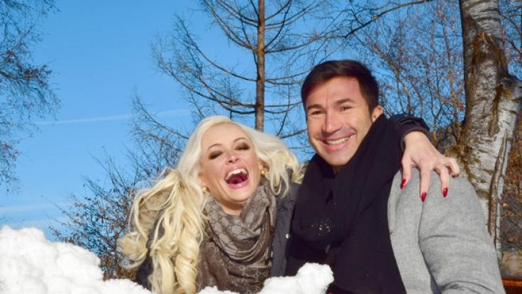 Nach der Hochzeit luden Daniela und Lucas nun zum Weihnachtsfest ein.
