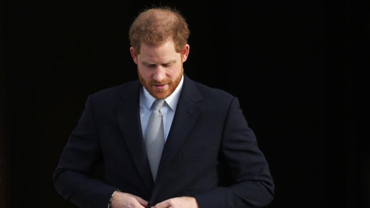 Auch Prinz Harry, Herzog von Sussex, ist in Sorge um Prinz Philip.