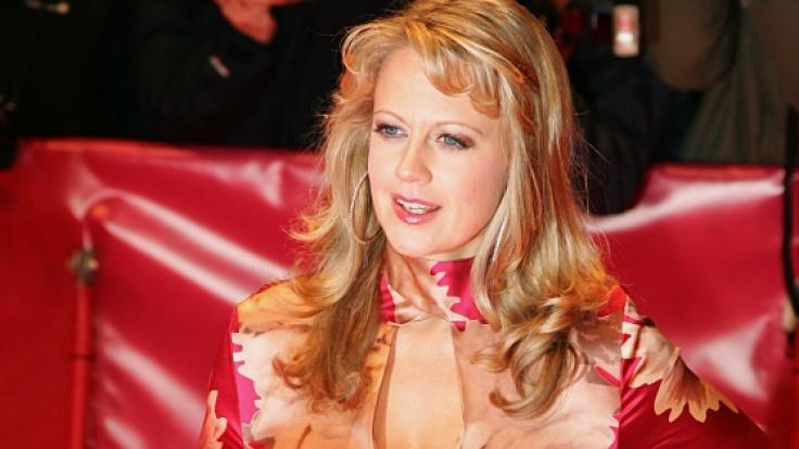 """Barbara Schöneberger 2007 bei der Premiere des Filmes """"The Good German"""" bei der Berlinale. (Foto)"""