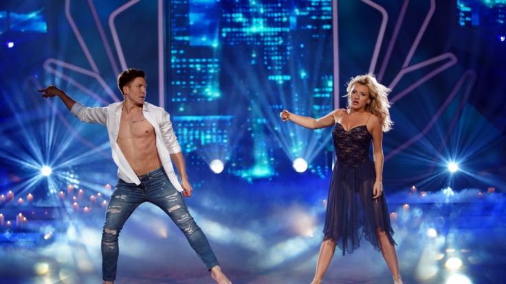 Evelyn Burdecki und Evgeny Vinokurov tanzten in der dritten Live-Show einen Contemporary. (Foto)