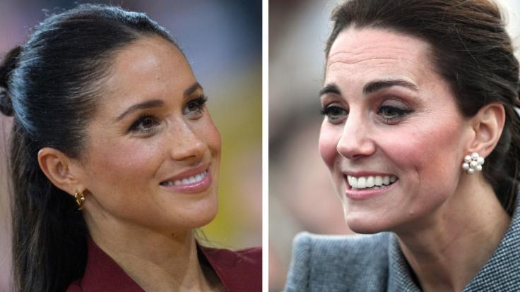 Meghan Markle und ihre Schwägerin Kate Middleton sorgten in der vergangenen Woche für einige royale Schlagzeilen.